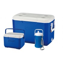 Cooler Combo: POLYLITE 48QT + FlipLid 6 Personal + 1/2 Gallon Performace