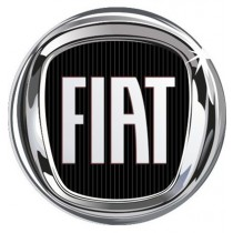 3D Car Logo - FIAT - Ø 50 mm