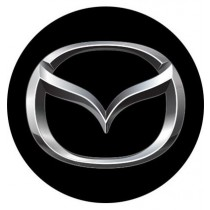 3D Car Logo - MAZDA - Ø 50 mm