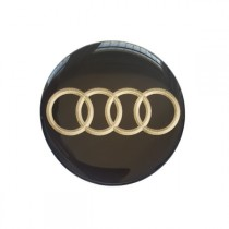 3D Car Logo - AUDI - Ø 55 mm